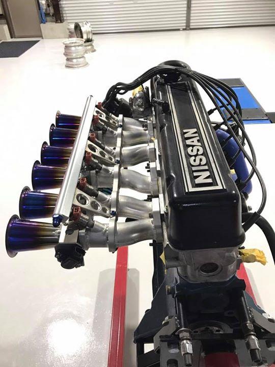 弊社オリジナルL型エンジン インジェクションキットです。